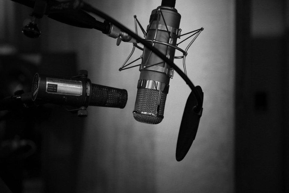 Mikrofon Aufnahme